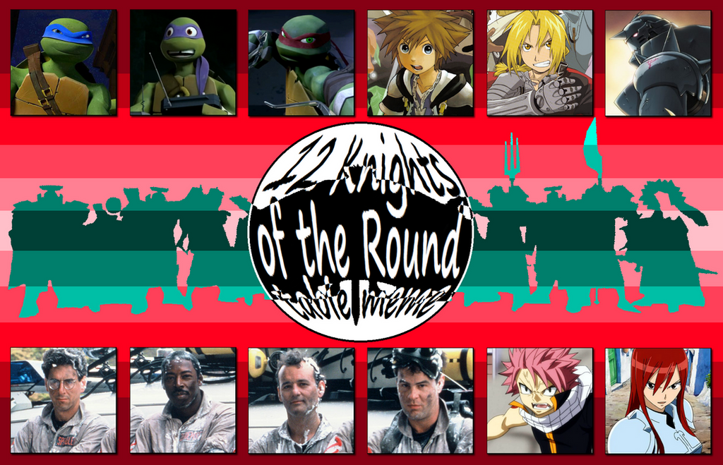 My knights of the round table by 4xeyes1987 on deviantart for 12 knight of the round table