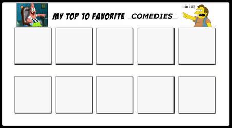 Top 10 Favorite Comedies