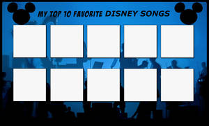 Top 10 Favorite Disney Songs