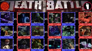 TMNT 2012 ~ Hamato Clan VS Foot Clan Death Battle