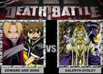 Death Battle ~ Edward and Sora VS Galenth Dysley