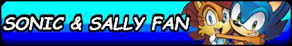 Sonic X Sally Fan Button