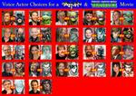 Voice Actor Choices for a Batman/TMNT Movie