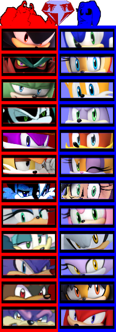 Dissidia: Sonic The Hedgehog by 4xEyes1987