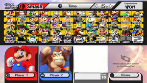 Super Smash Bros ~ Super Mario VS Donkey Kong