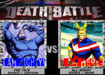 Death Battle ~ The Tick VS All-Might