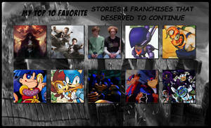 My Top 10 Favorite Dead Stories and Franchises