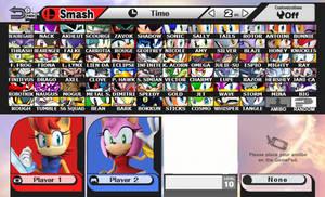 Super Smash Bros - Sonic The Hedgehog