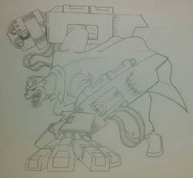 TMNT 2012's Ivan Steranko as Tora by 4xEyes1987