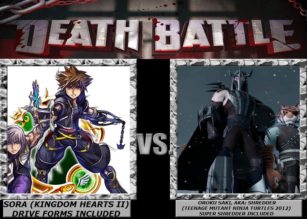 Death Battle Sora Vs Shredder By 4xeyes1987 On Deviantart