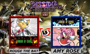 Dissidia Sonic The Hedgehog ~ Rouge VS Amy