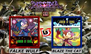 Dissidia Sonic The Hedgehog ~ Falke VS Blaze