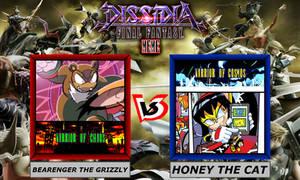 Dissidia Sonic The Hedgehog ~ Bearenger VS Honey