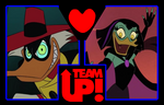 Team Up + Couple ~ Negaduck and Magica De Spell