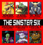 Nintendo Villains as Sinister Six by 4xEyes1987