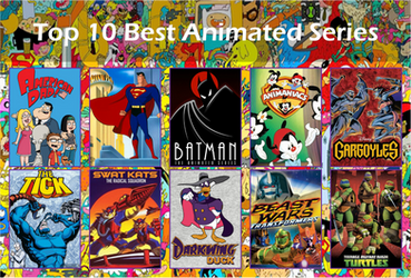 My Top 10 Favorite Animated Shows by 4xEyes1987