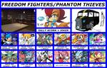 Team Meme ~ Freedom Fighters/Phantom Thieves