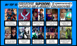 My Top 10 Reasons for Superman and KH Crossover by 4xEyes1987