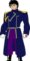 Bruce Timm Style ~ Mustang (Fullmetal Alchemist)