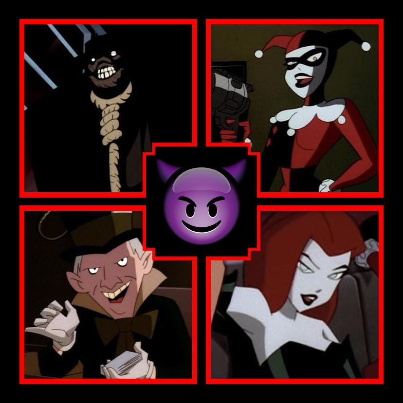 Batman Villain Team-Up