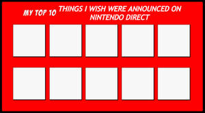 Top 10 Things I Wish Nintendo Direct Announced