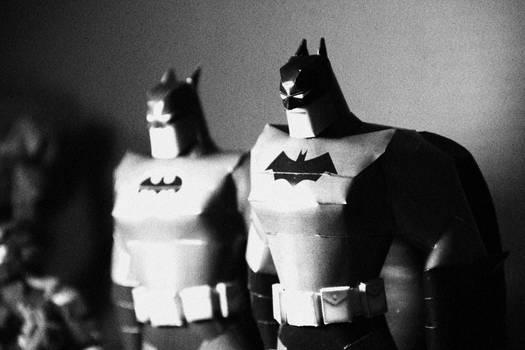 batman animated papercraft