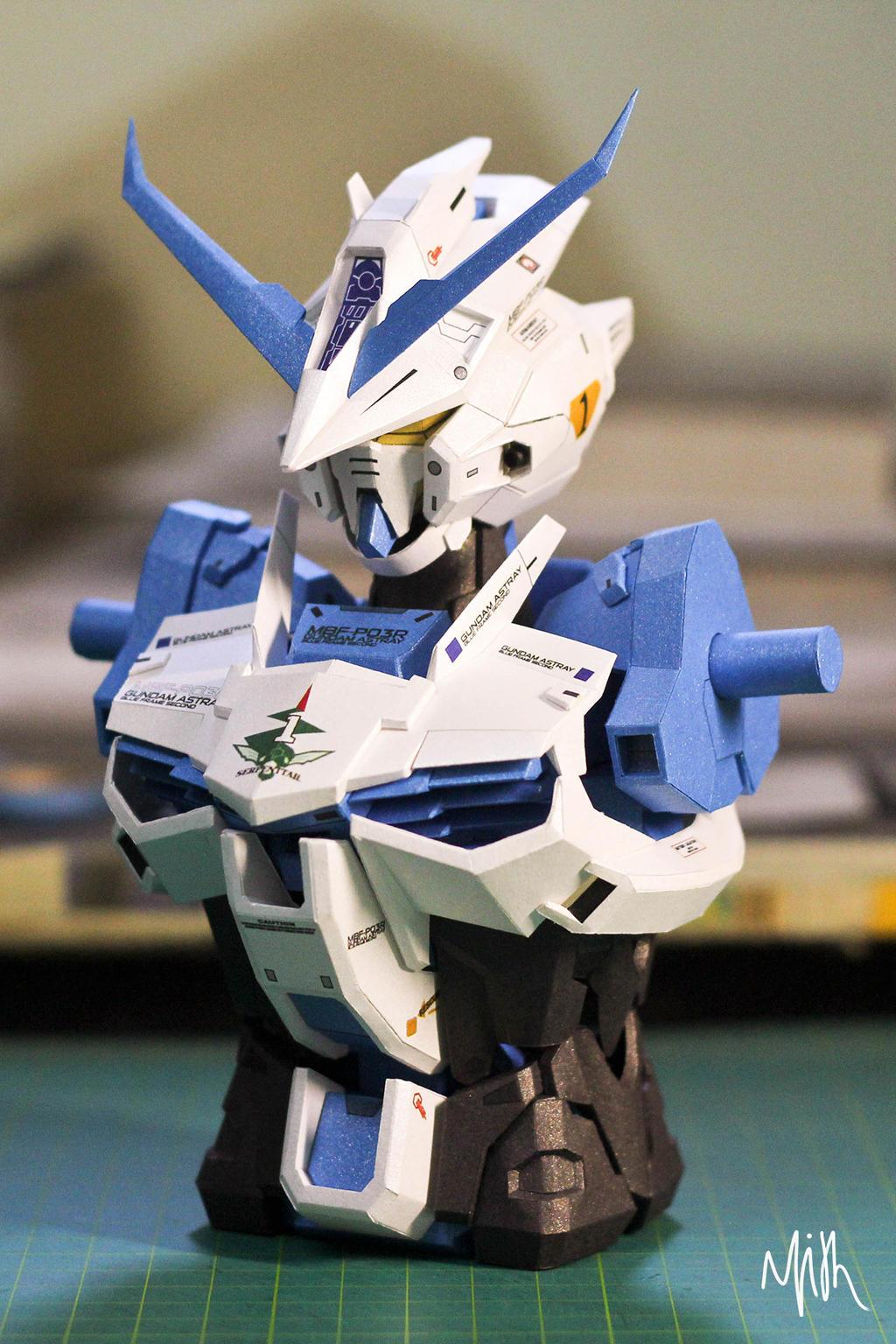 Wallpaper Gundam Astray Blue Frame Second Revise Photo 25