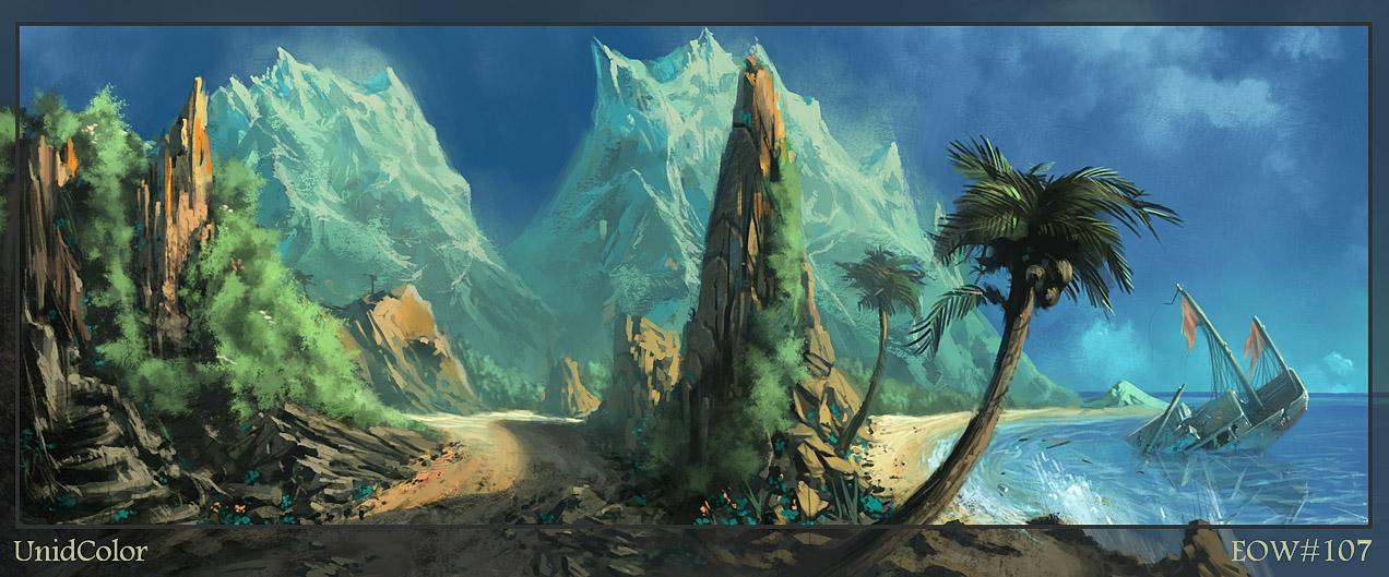 El origen de la Magia [Solitaria] - Página 2 Paradise_Island_EoW_Entry_by_UnidColor