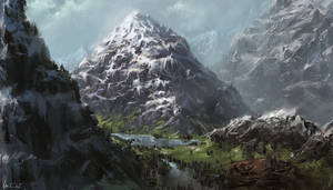 The Ancient Pyramid Mountains