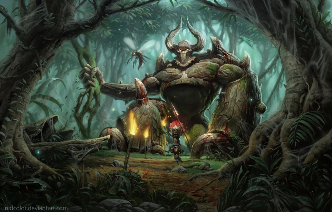 Diablo 2 Act 3 by UnidColor