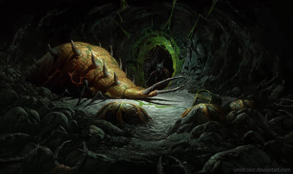 Diablo 2 Act 2 Maggot lair