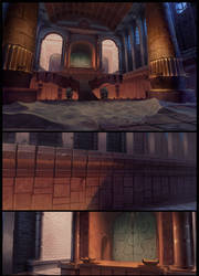 The Begun of Tigtone backgrounds
