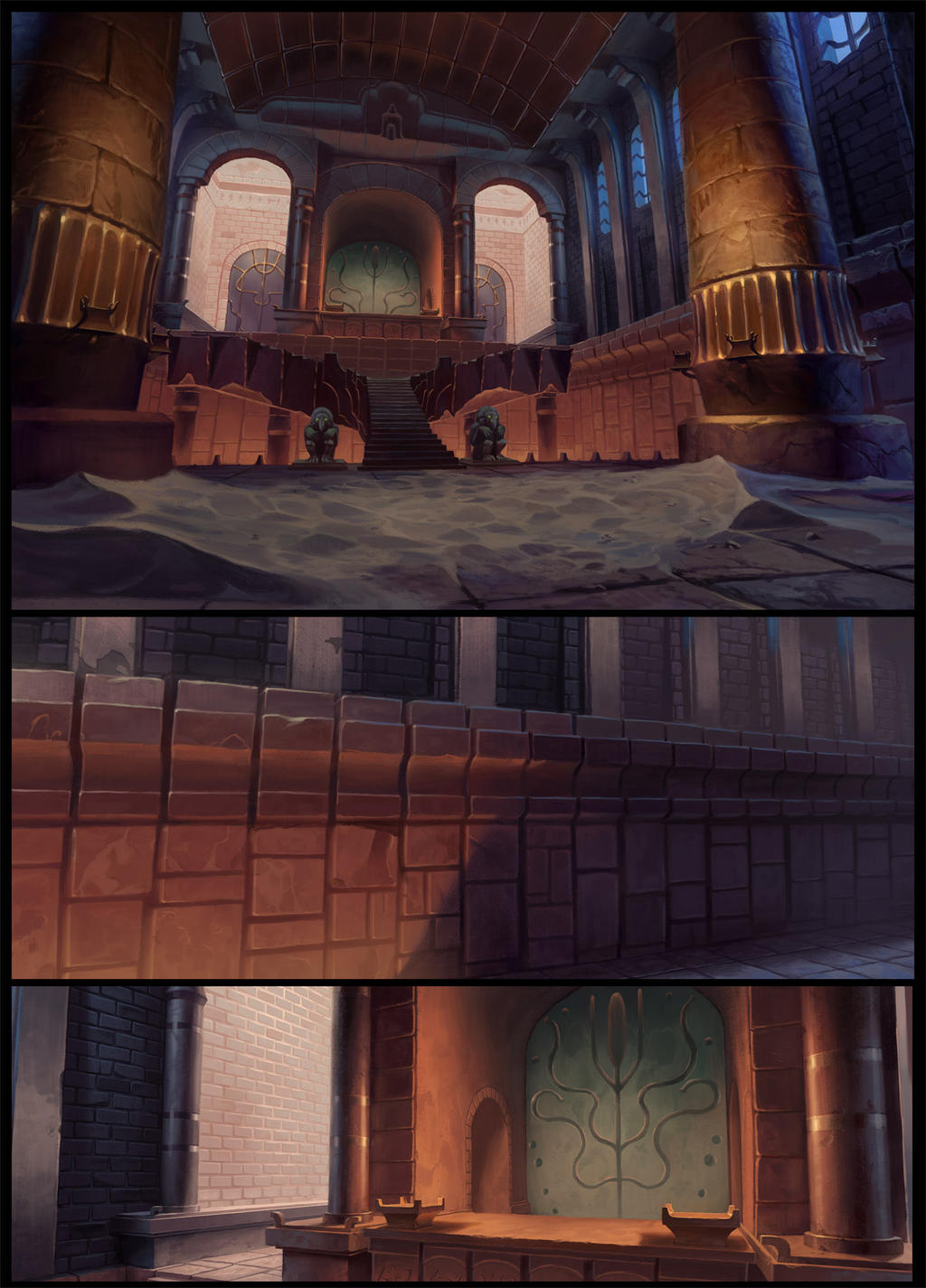 The Begun of Tigtone backgrounds by UnidColor