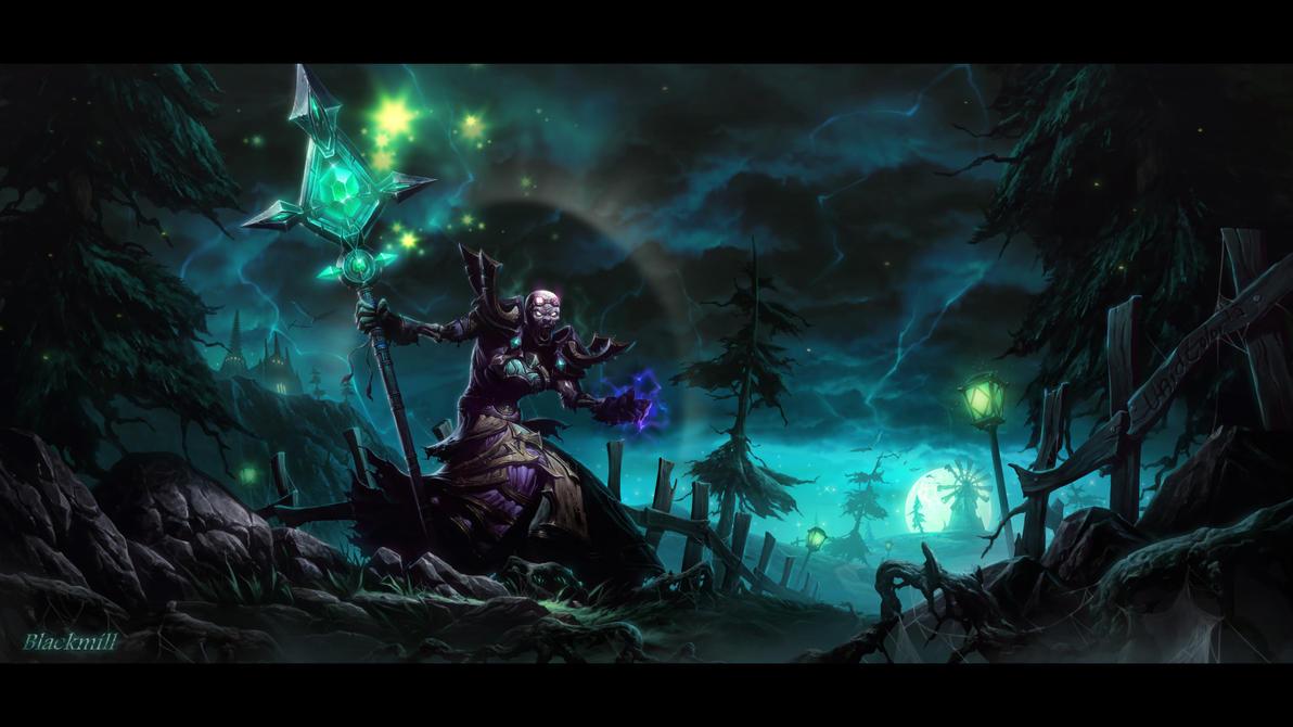 Undead priest by UnidColor