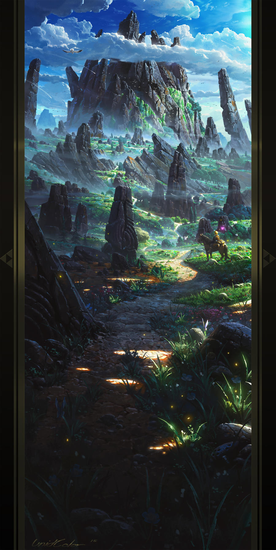The Legend of Zelda: Breath of the Wild by UnidColor