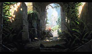 Temple Exit by UnidColor