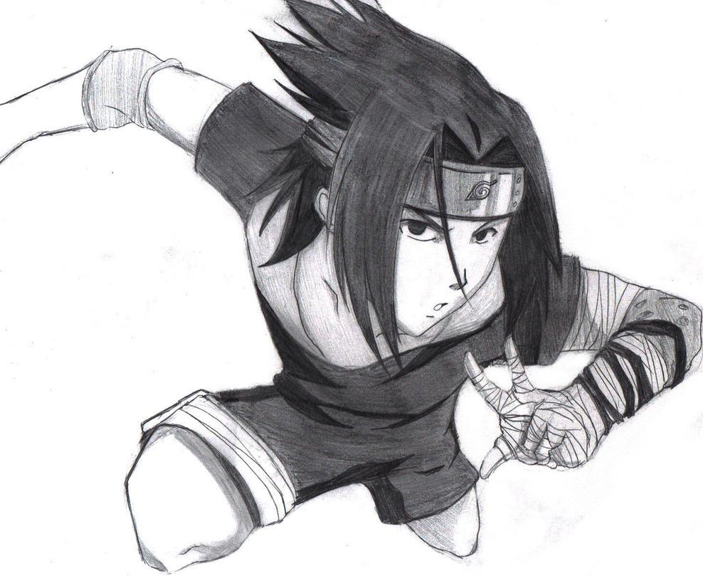 Sasuke by PandaG