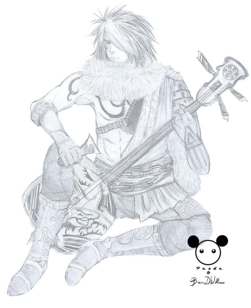 Motochika Samurai Warriors by PandaG