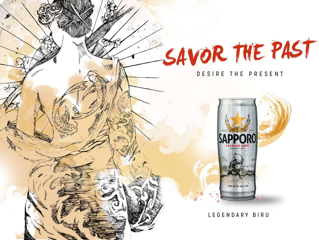 Savor the Past_Sapparo Contest by PandaG