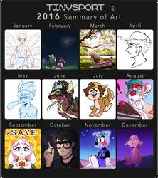 i stopped drawing april-july by davekin