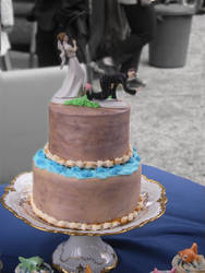 Unique Wedding Cake by Artismyworld