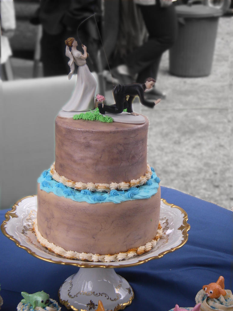 Unique Wedding Cake by Artismyworld