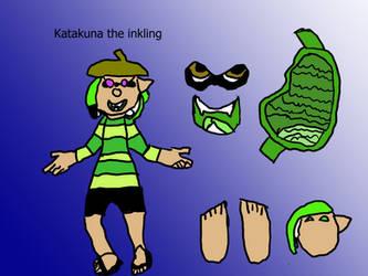 Katakuna the inkling