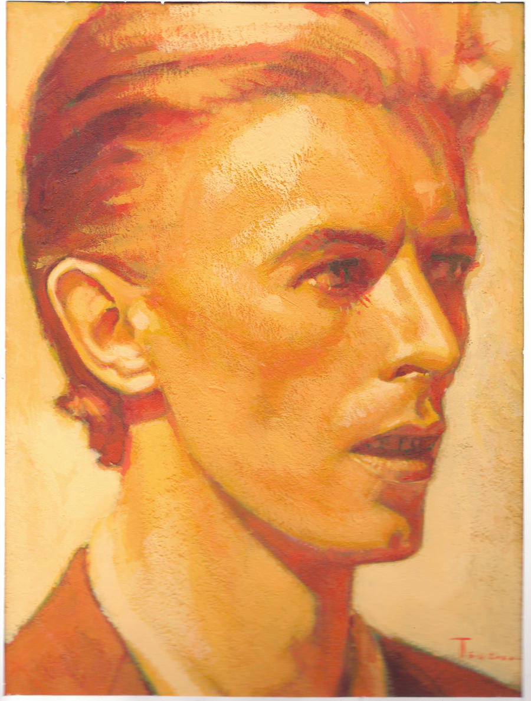David Bowie by bentjoelker