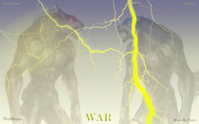 Lightning Wolf by nuro0o