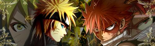 Naruto And Natsu Signature by nuro0o