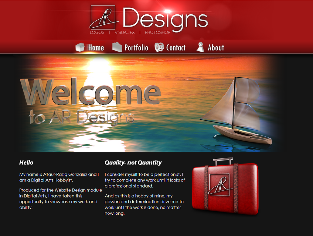 personal home page