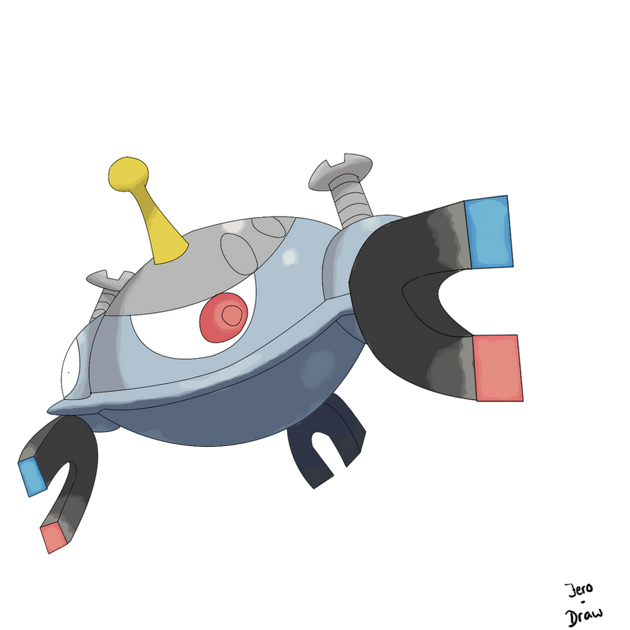 Pokemon coloring pages magnezone - Magnezone