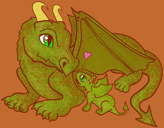 Dragon and Hatchling