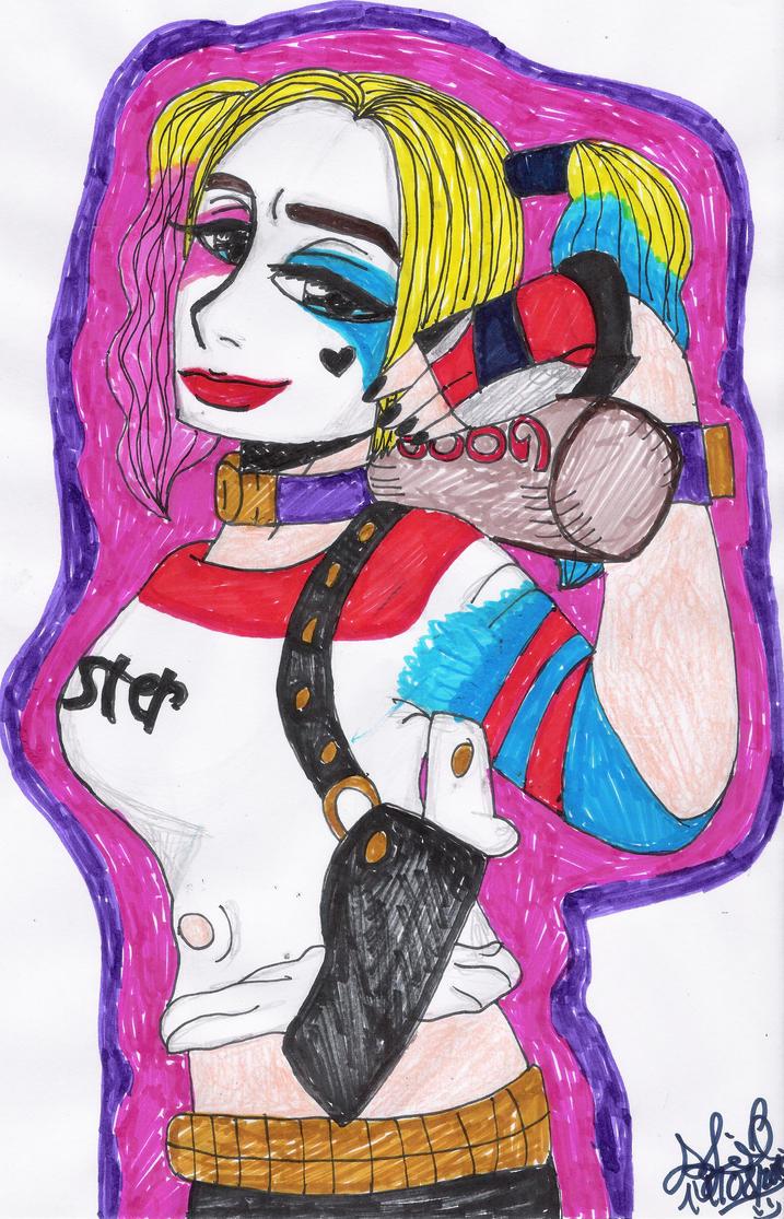 SUICIDE SQUAD Harley Quinn. by SofiaDrago